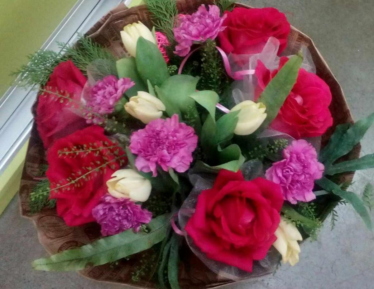 Букеты цветов для выпускного фото, букет для невесте