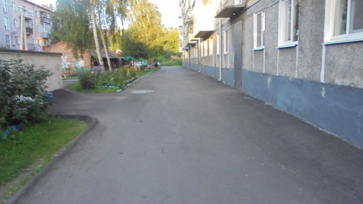 В Прокопьевске завершено благоустройство поселка Красный Углекоп