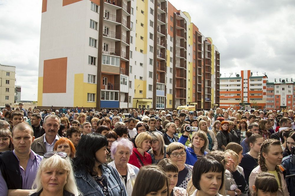 Новый рекорд в Кузбассе: за один день 1050 семей получили новые квартиры