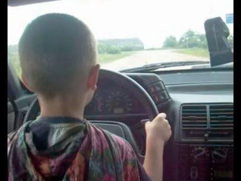 В Кузбассе наказали водителя, который усадил за руль 4-летнего сына