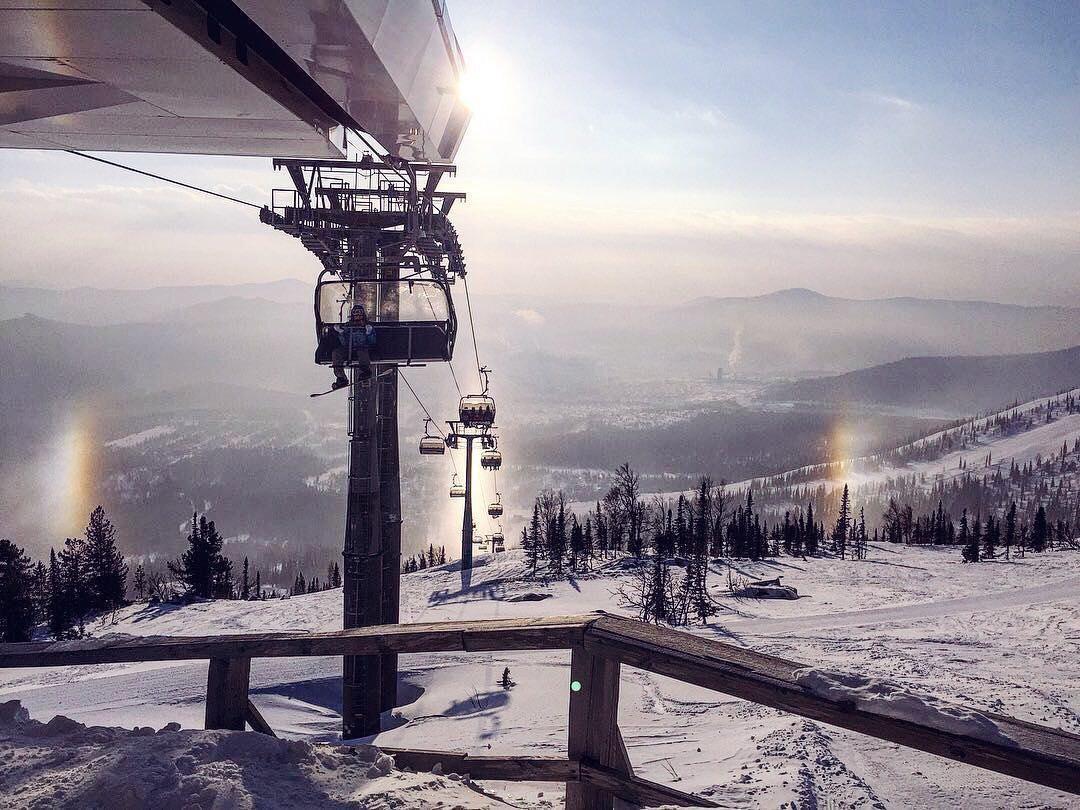 Два новых подъёмника запустят на горнолыжном курорте Шерегеш в новом сезоне