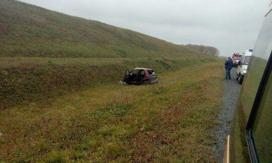 В жесткое ДТП на трассе Кузбасса попал грудной ребенок