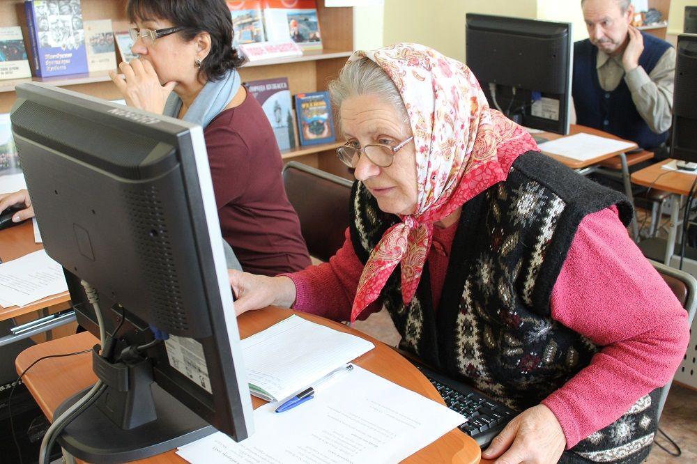 В Прокопьевске состоялся компьютерный баттл среди пенсионеров