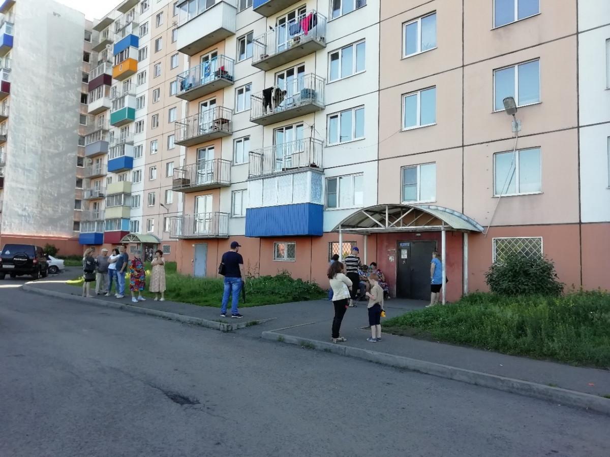 В Прокопьевске эвакуировали жилой дом