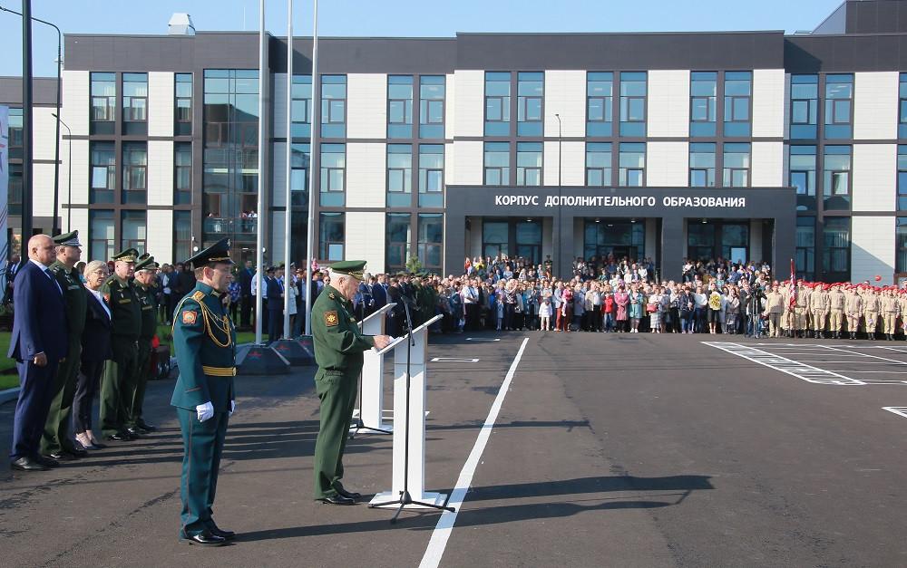 В Кузбассе торжественно открыто президентское кадетское училище