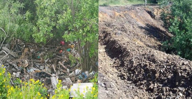 В Кузбассе с берегов водоемов ликвидировано 39 свалок
