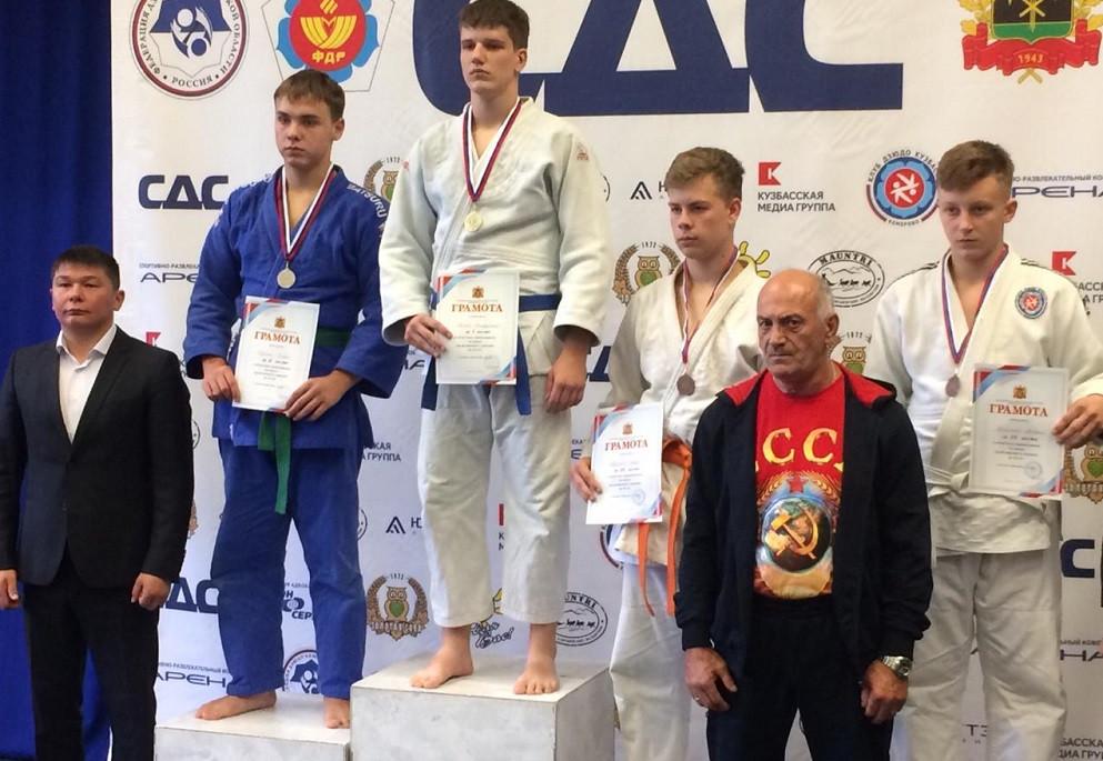 Прокопьевские дзюдоисты пополнили копилку наград на областных соревнованиях