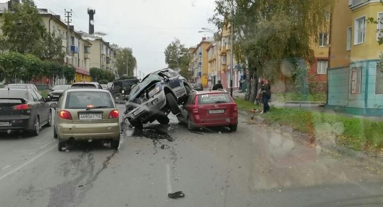 Тройное ДТП произошло в Прокопьевске