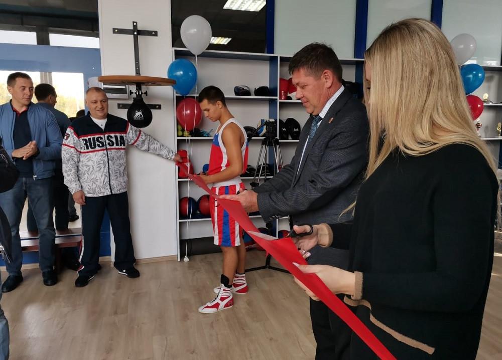 Новый спортивный зал открыт в Прокопьевске
