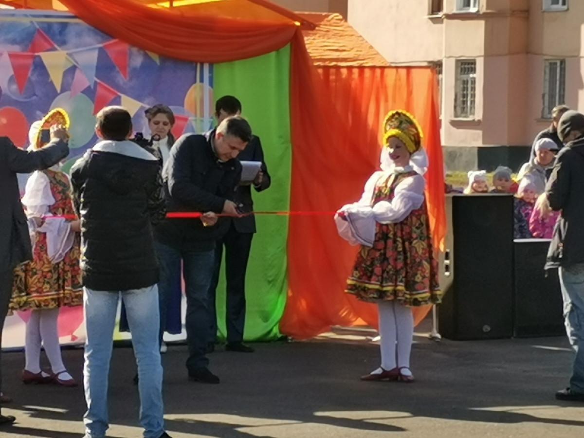 В Прокопьевске открылся новый сквер