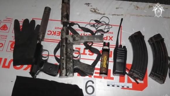 Тайник с оружием и золотом обнаружили следователи у задержанного за убийство экс-мэра Киселевска