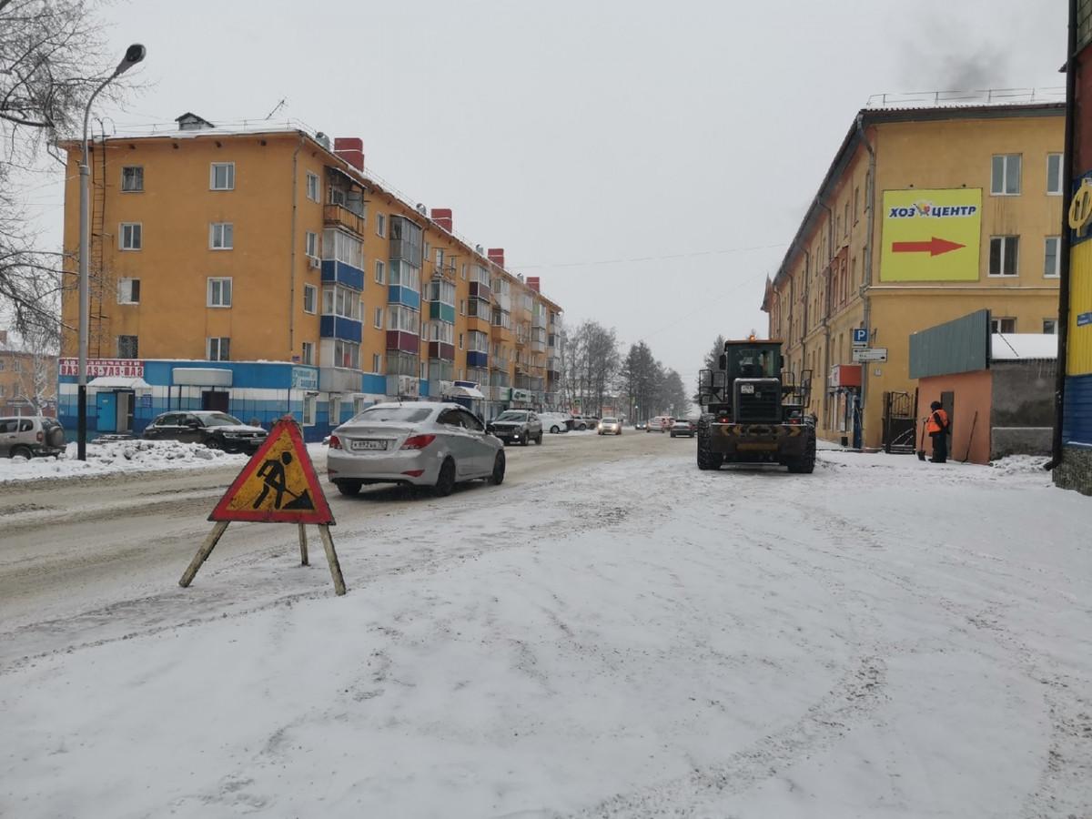 Дорожники Прокопьевска перешли на усиленный режим работы