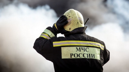В Прокопьевске загорелась легковушка