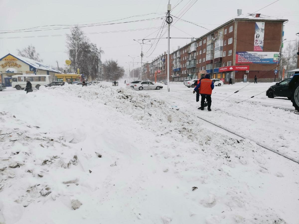 Как переживает начало зимы трамвайное хозяйство Прокопьевска