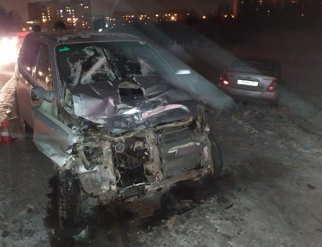Жесткое ДТП произошло на автодороге Прокопьевск-Киселевск