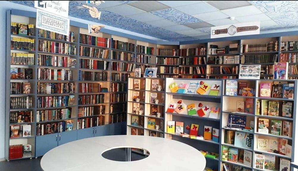 Библиотека в поселке Маганак переехала