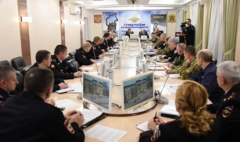 В Кузбассе прошло совещание по вопросам взаимодействия органов внутренних дел и Росгвардии региона