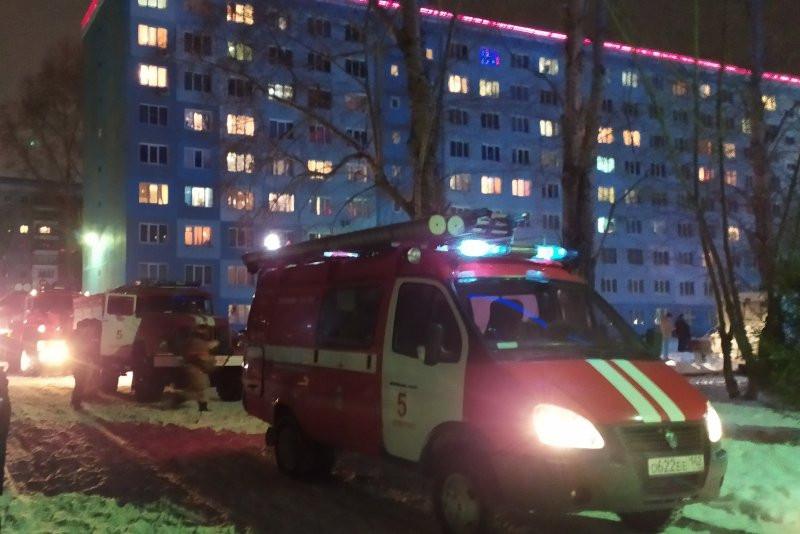 В Кузбассе при пожаре спасены 17 человек
