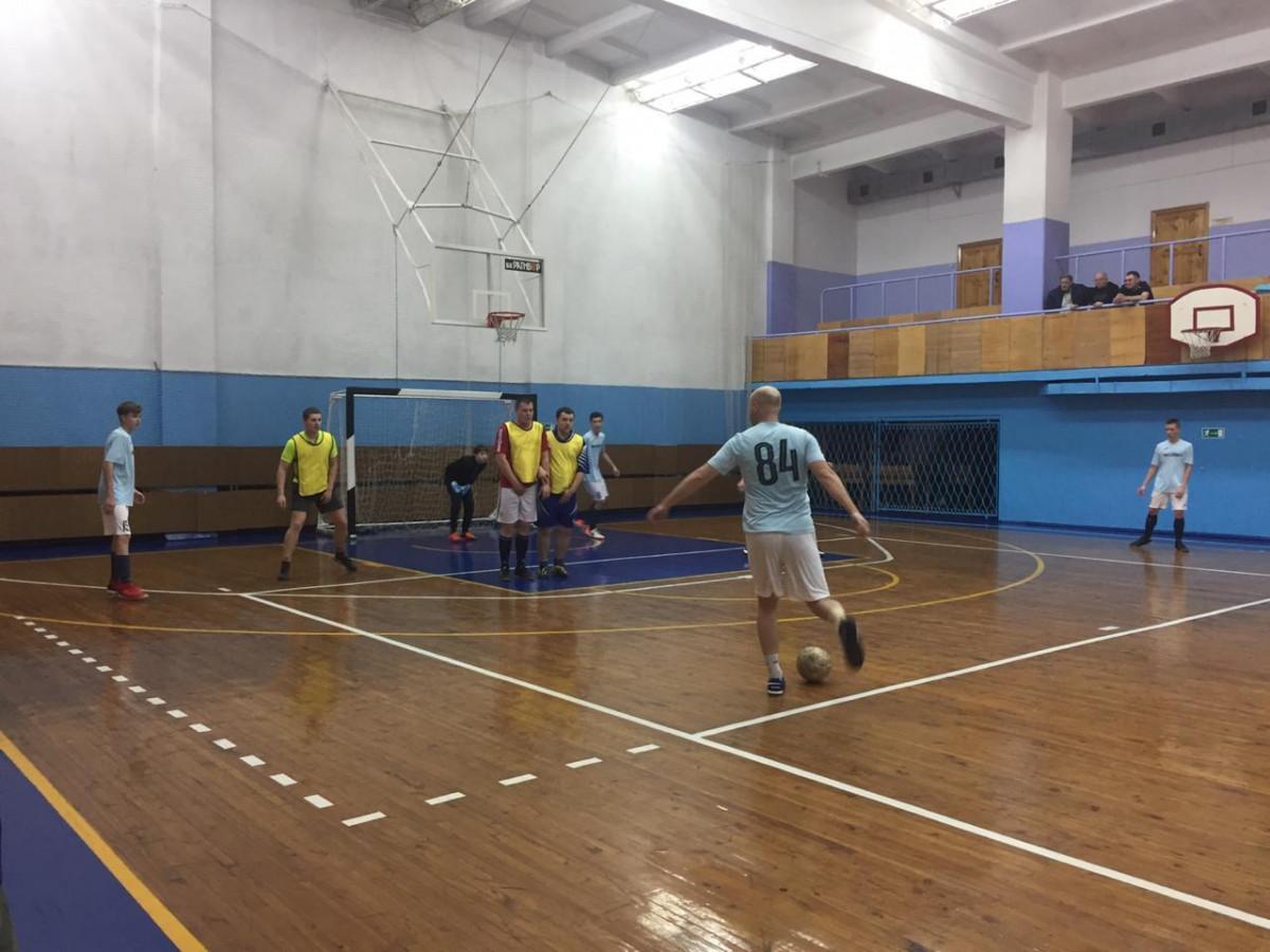 Прокопчане на выезде одержали победу в турнире по мини-футболу