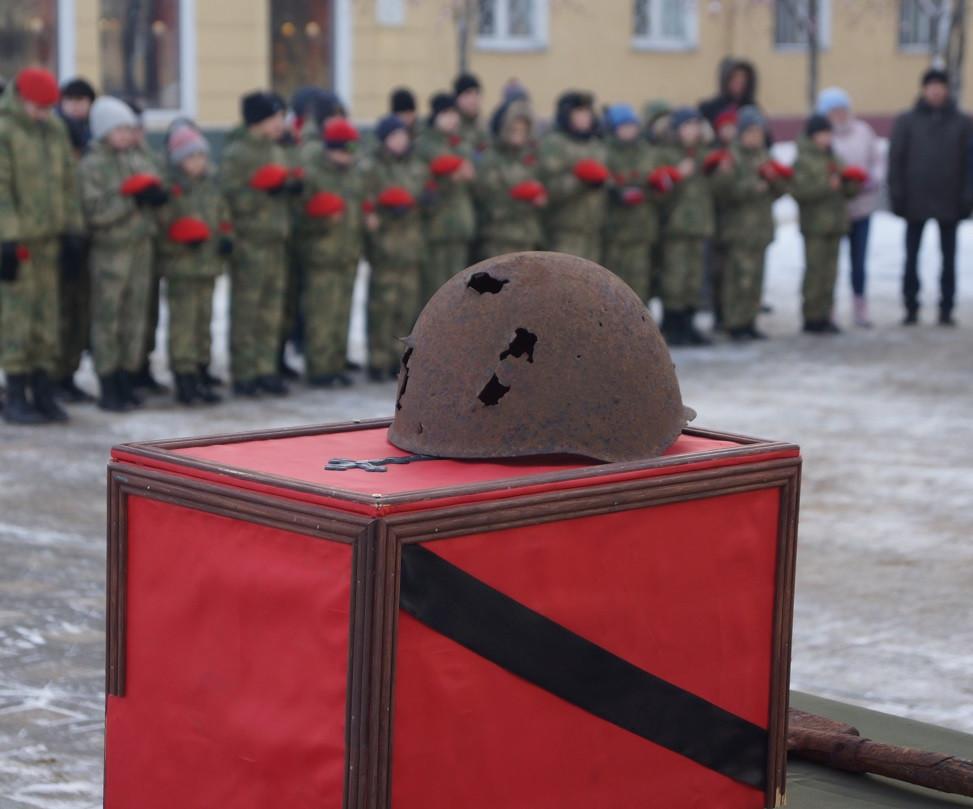 В Кузбассе захоронены останки солдата, пропавшего без вести в годы Великой Отечественной войны