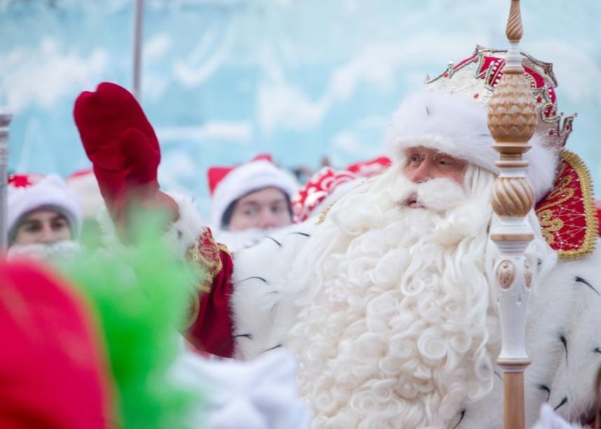 Деды Морозы Кузбасса установили новый рекорд России