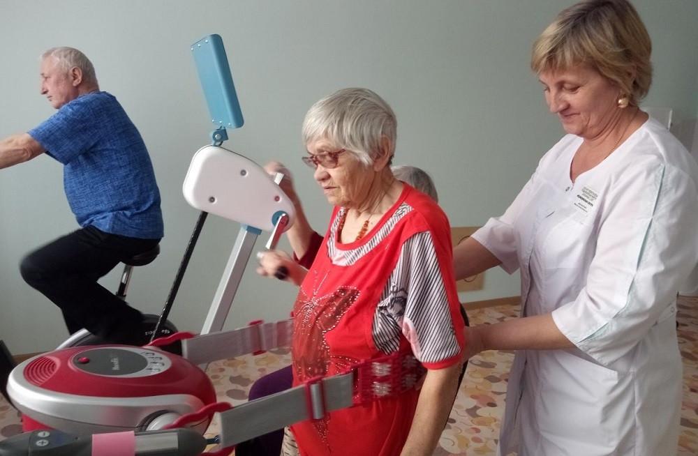 В больнице Прокопьевского района открылось гериатрическое отделение