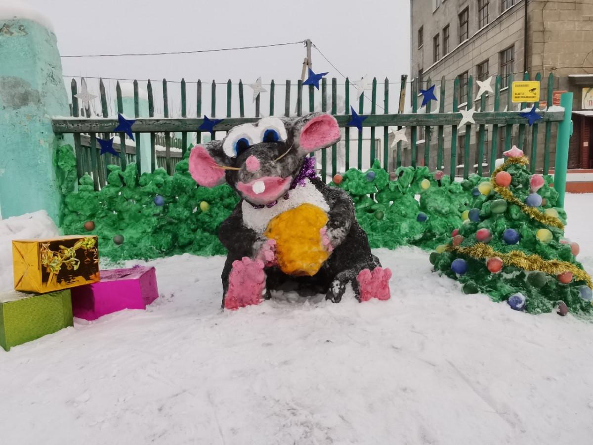 Когда мыши в радость: Прокопьевск преображается к новому году