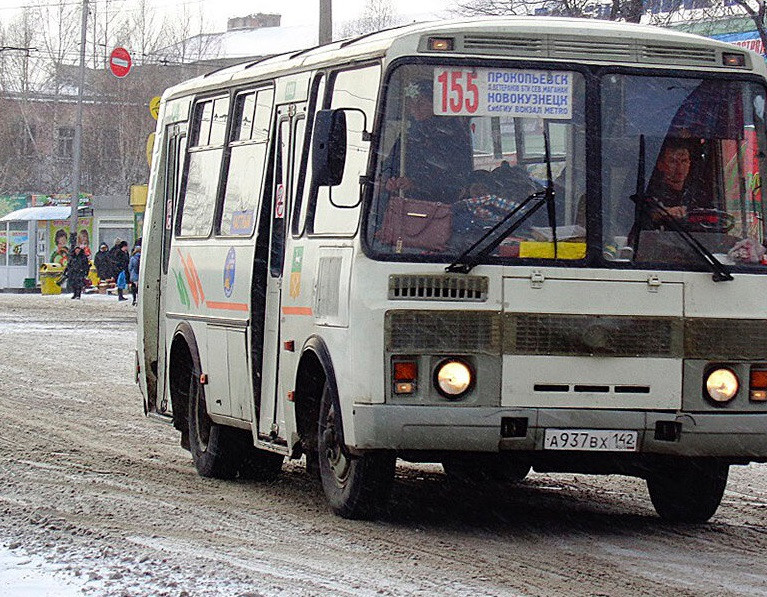 Как будут работать автобусы по маршруту №155 в новогодние праздники