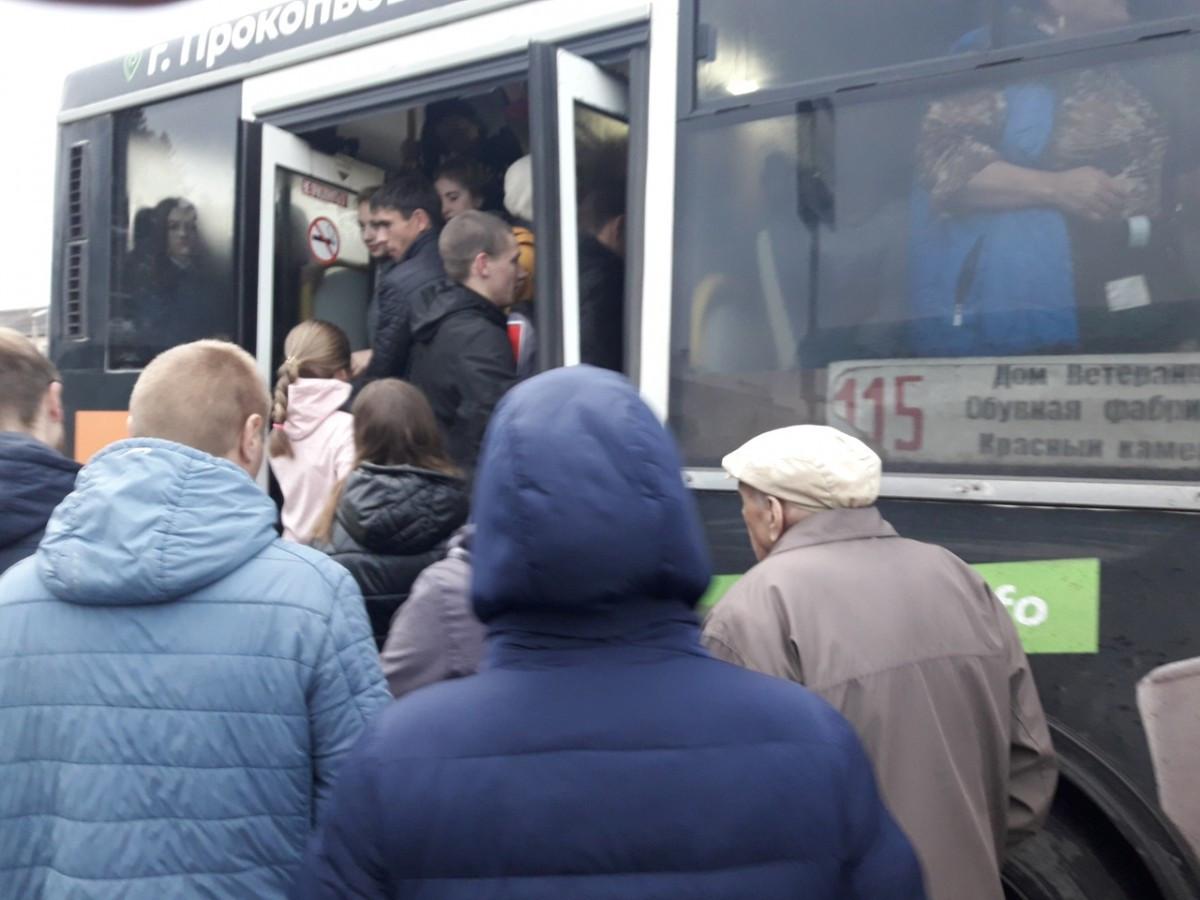 Автобусов на маршруте №115 стало больше
