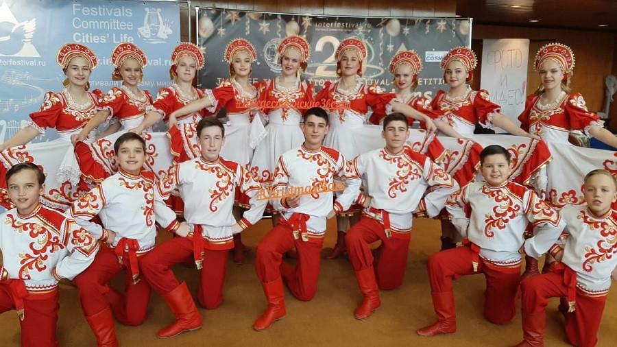 Танцевальный коллектив из Прокопьевского района покорил международное жюри