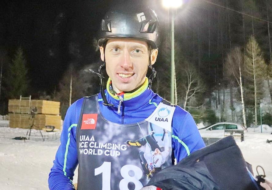 Кузбассовец стал победителем кубка мира по ледолазанию