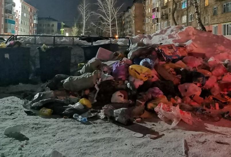 Власти: один из двух регоператоров Кузбасса на день прекратил вывоз мусора из некоторых городов