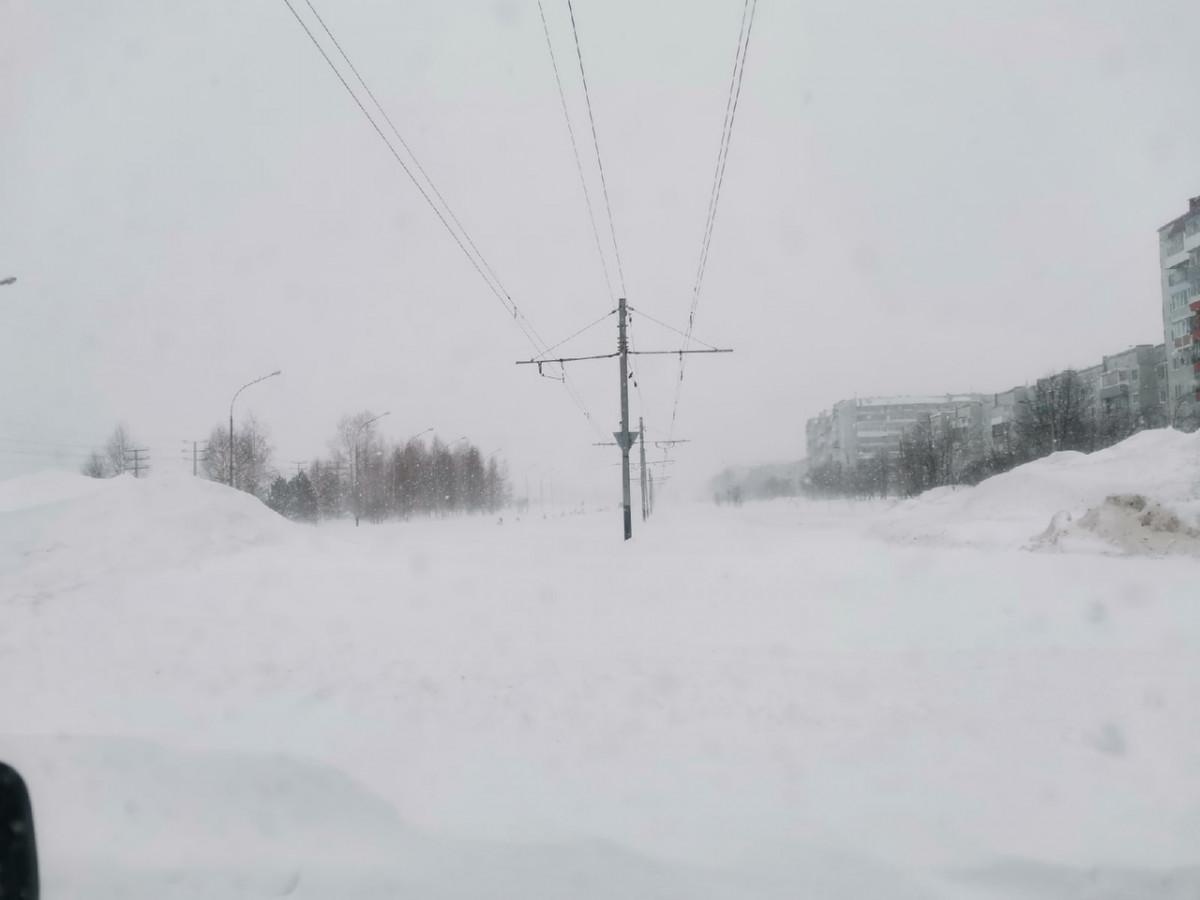 Как Прокопьевск пережил снегопад (фото, видео)