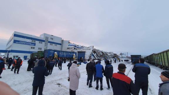 В Прокопьевске обрушилась кровля вагоноремонтного завода