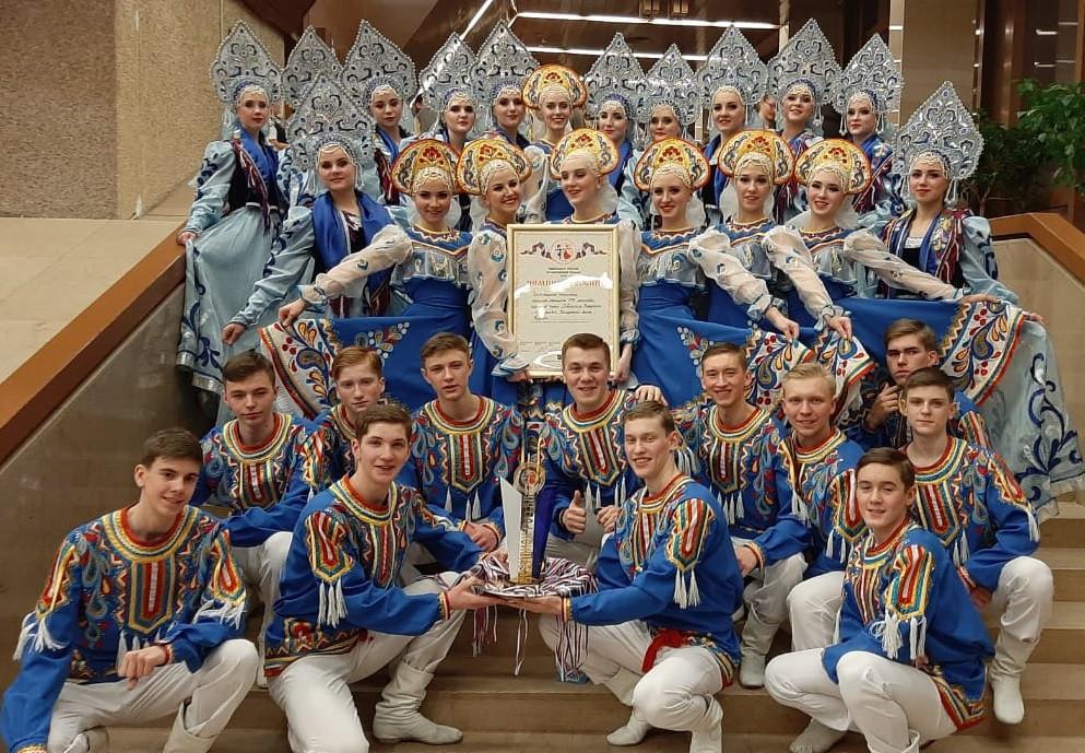 Прокопьевский коллектив признан лучшим в России по народным танцам