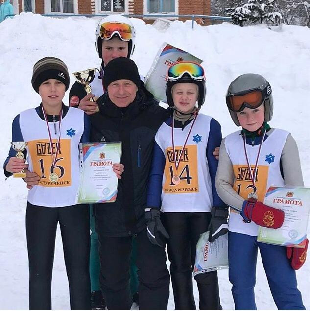 Лыжники Прокопьевска пополнили копилку наград на престижных соревнованиях
