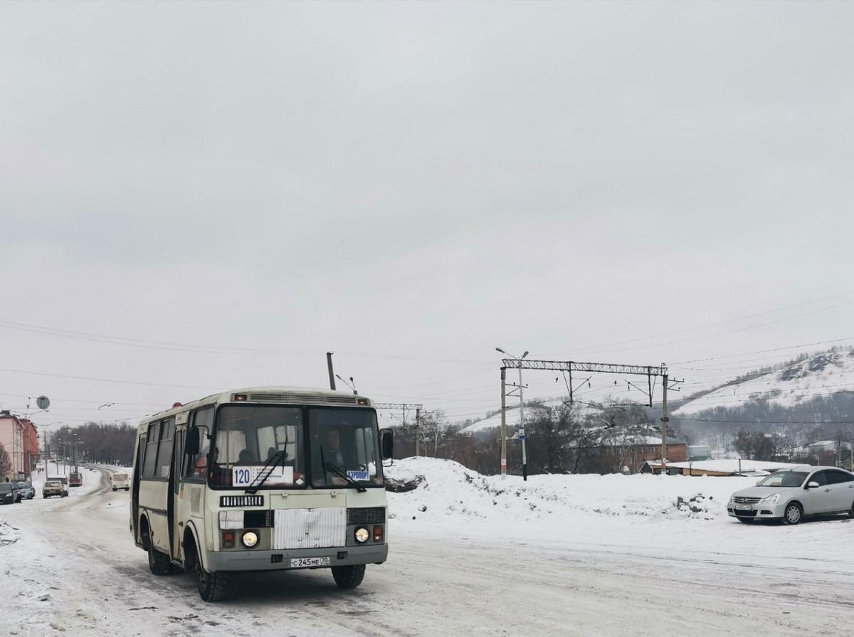В Прокопьевске изменилось расписание автобусов №120