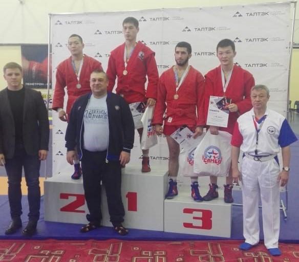 Прокопчане стали победителями всероссийских соревнований по самбо