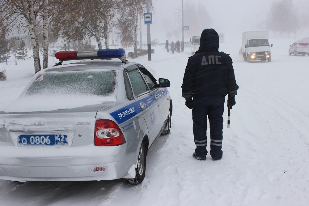 Массовые проверки водителей пройдут в Прокопьевске