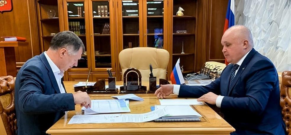 Проблемы ввода нового жилья для льготных категорий граждан обсудили Сергей Цивилев и  Марат Хуснуллин