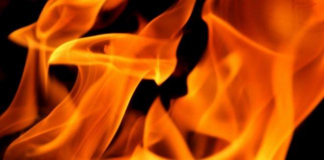 В Прокопьевске загорелся тепловоз