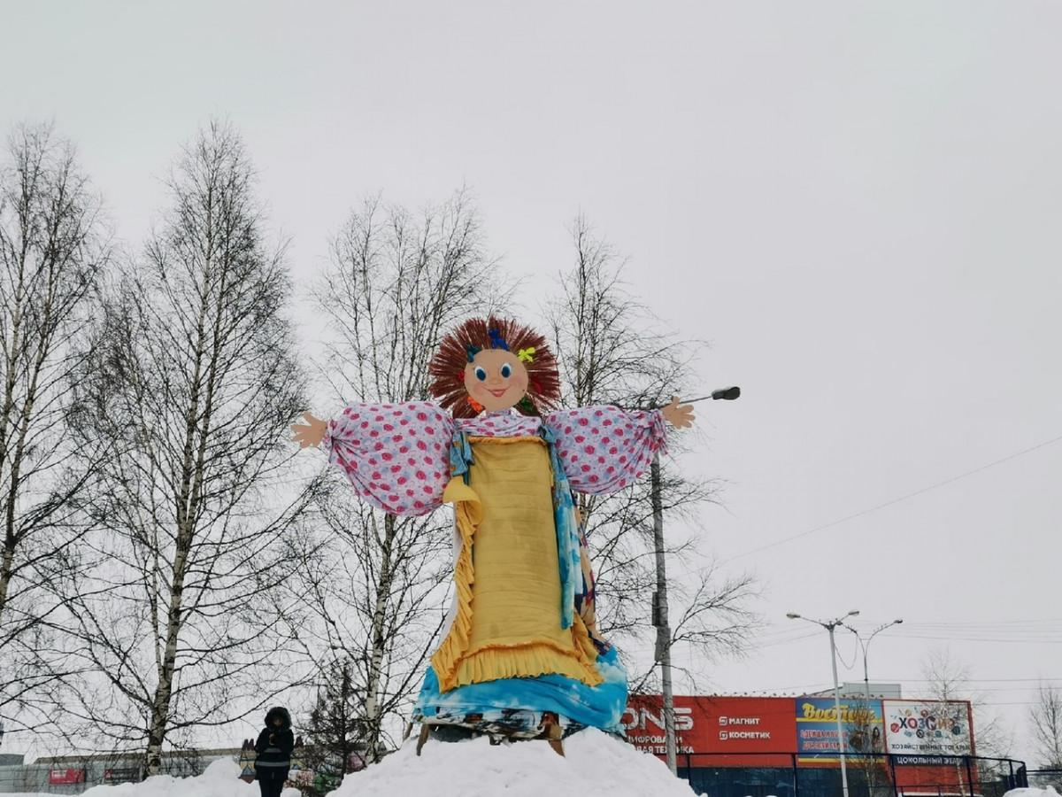 В Прокопьевске состоялись проводы зимы
