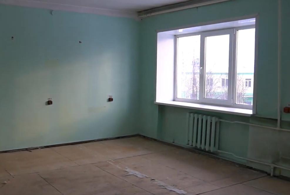 В больнице Прокопьевска начался крупный ремонт