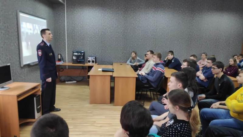 Полицейские Прокопьевска приглашают студентов в народную дружину