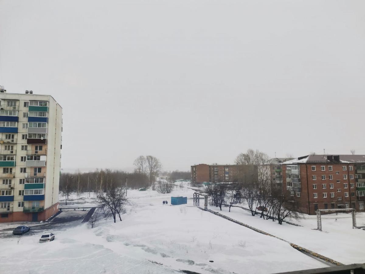 Синоптики: ожидаются снег и сильный ветер