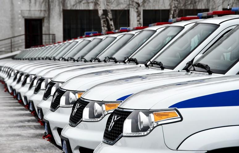 Полицейские Кузбасса получили новые автомобили