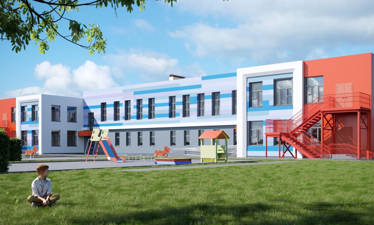 В Киселевске забивают сваи под новый детский сад