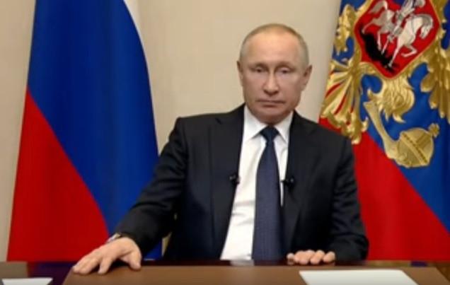 Президент Владимир Путин выступил с обращением к нации из-заситуации с коронавирусом
