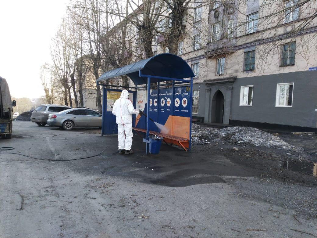 Чем в Прокопьевске обрабатывают общественные места