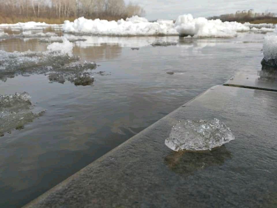 На главной водной артерии Кузбасса завершается ледоход